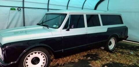 1972 Chevrolet Suburban for sale at Classic Car Deals in Cadillac MI
