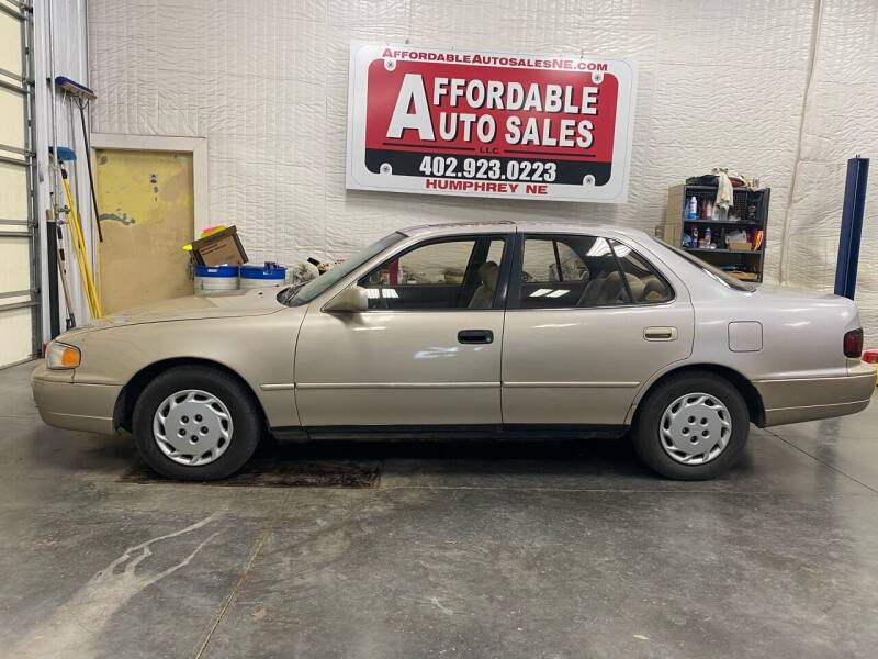 1995 Toyota Camry for sale at Affordable Auto Sales in Humphrey NE