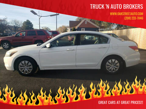 2009 Honda Accord for sale at Truck 'N Auto Brokers in Pocatello ID