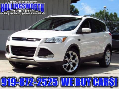 2014 Ford Escape for sale at Hollingsworth Auto Sales in Raleigh NC