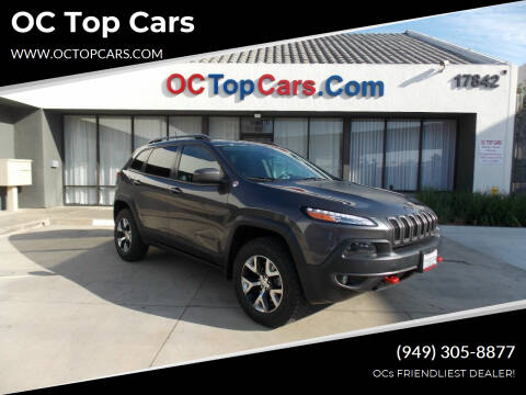 2014 Jeep Cherokee for sale at OC Top Cars in Irvine CA