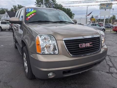 2007 GMC Yukon for sale at GREAT DEALS ON WHEELS in Michigan City IN