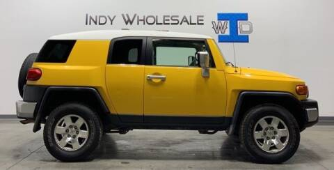 2007 Toyota FJ Cruiser for sale at Indy Wholesale Direct in Carmel IN