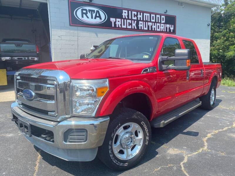 2012 Ford F-250 Super Duty for sale at Richmond Truck Authority in Richmond VA