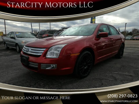 2009 Ford Fusion for sale at StarCity Motors LLC in Garden City ID