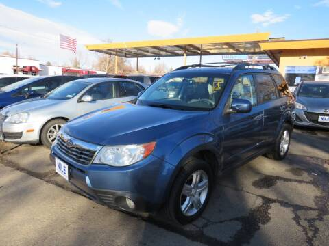2009 Subaru Forester for sale at Nile Auto Sales in Denver CO