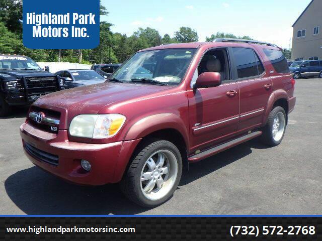 2006 Toyota Sequoia for sale at Highland Park Motors Inc. in Highland Park NJ
