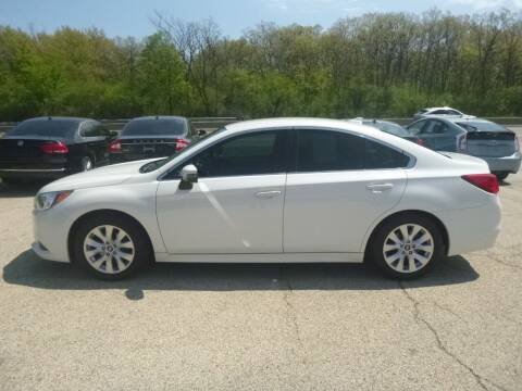 2017 Subaru Legacy for sale at NEW RIDE INC in Evanston IL