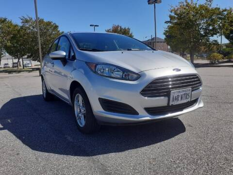 2019 Ford Fiesta for sale at A&R MOTORS in Portsmouth VA