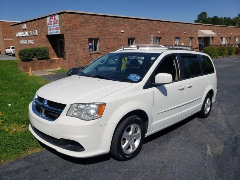 2012 Dodge Grand Caravan for sale at ARA Auto Sales in Winston-Salem NC