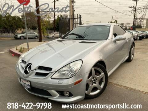 2005 Mercedes-Benz SLK for sale at West Coast Motor Sports in North Hollywood CA