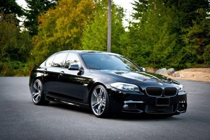 2011 BMW 5 Series for sale at ATLANTIC MOTORS GP LLC in Houston TX