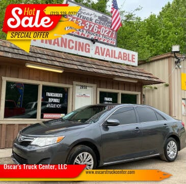 2012 Toyota Camry for sale at Oscar's Truck Center, LLC in Houston TX