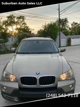 2008 BMW X5 for sale at Suburban Auto Sales LLC in Madison Heights MI