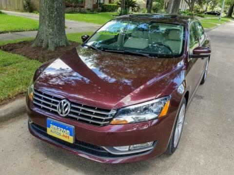 2014 Volkswagen Passat for sale at Amazon Autos in Houston TX