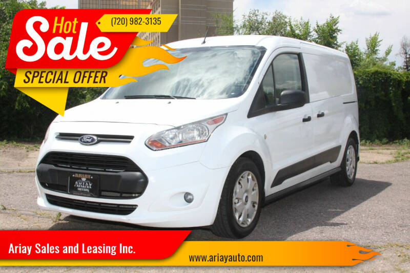 2014 Ford Transit Connect Cargo for sale at Ariay Sales and Leasing Inc. - Pre Owned Storage Lot in Glendale CO