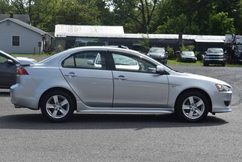 2009 Mitsubishi Lancer for sale at Broadway Garage of Columbia County Inc. in Hudson NY