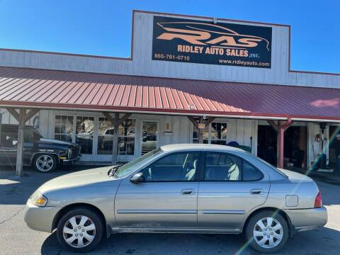 2005 Nissan Sentra for sale at Ridley Auto Sales, Inc. in White Pine TN