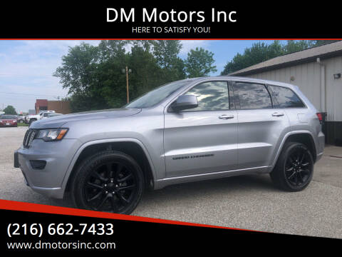 2019 Jeep Grand Cherokee for sale at DM Motors Inc in Maple Heights OH