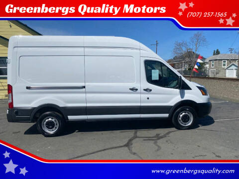 2016 Ford Transit Cargo for sale at Greenbergs Quality Motors in Napa CA