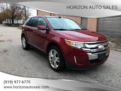 2013 Ford Edge for sale at Horizon Auto Sales in Raleigh NC