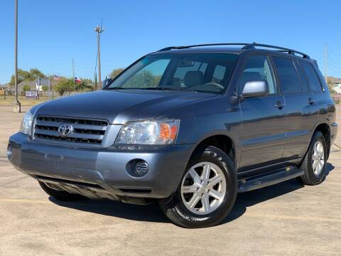 2007 Toyota Highlander for sale at AUTO DIRECT Bellaire in Houston TX
