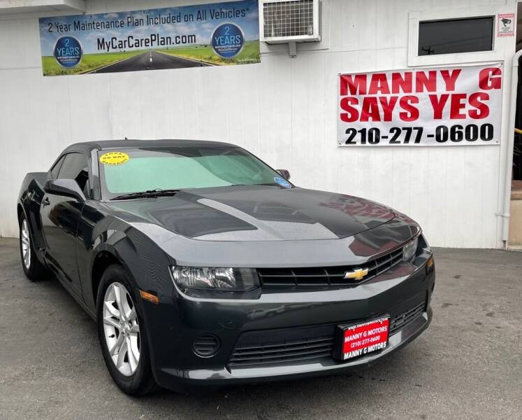 2014 Chevrolet Camaro for sale at Manny G Motors in San Antonio TX