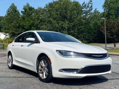 2016 Chrysler 200 for sale at Top Notch Luxury Motors in Decatur GA
