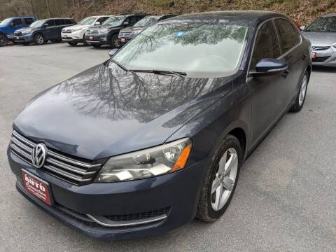 2012 Volkswagen Passat for sale at AUTO CONNECTION LLC in Springfield VT