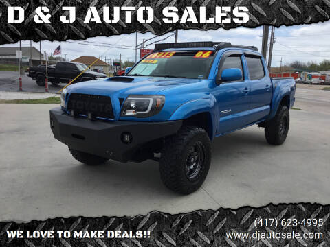 2006 Toyota Tacoma for sale at D & J AUTO SALES in Joplin MO