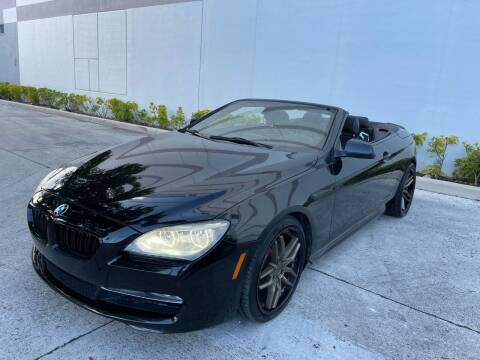 2012 BMW 6 Series for sale at Auto Beast in Fort Lauderdale FL
