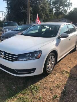 2013 Volkswagen Passat for sale at S & J Auto Group in San Antonio TX