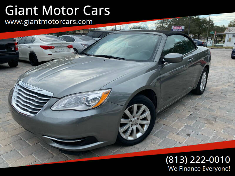 2013 Chrysler 200 Convertible for sale at Giant Motor Cars in Tampa FL