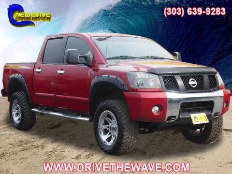2007 Nissan Titan for sale at New Wave Auto Brokers & Sales in Denver CO