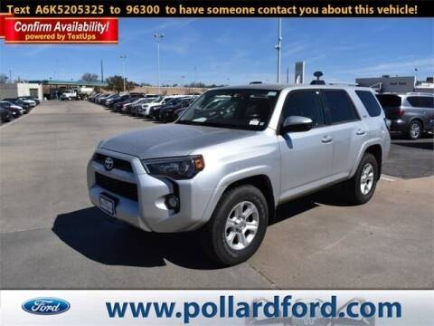 2019 Toyota 4Runner for sale at South Plains Autoplex by RANDY BUCHANAN in Lubbock TX