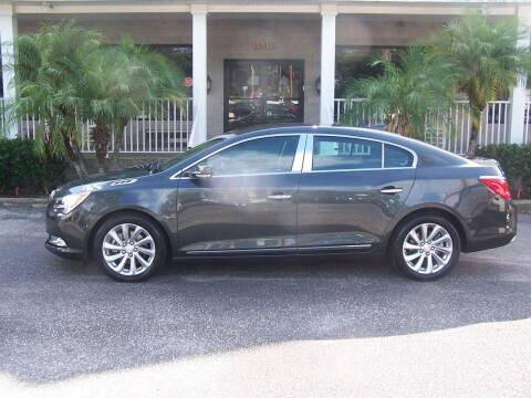 2016 Buick LaCrosse for sale at Thomas Auto Mart Inc in Dade City FL