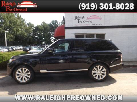 2016 Land Rover Range Rover for sale at Raleigh Pre-Owned in Raleigh NC
