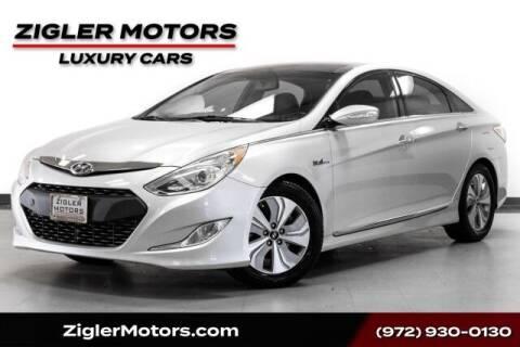 2014 Hyundai Sonata Hybrid for sale at Zigler Motors in Addison TX
