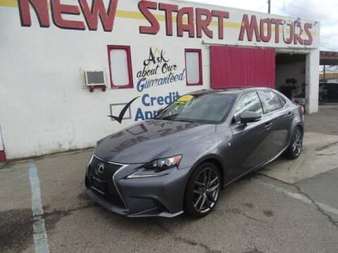 2015 Lexus IS 250 for sale at New Start Motors in Bakersfield CA