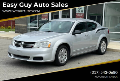 2012 Dodge Avenger for sale at Easy Guy Auto Sales in Indianapolis IN