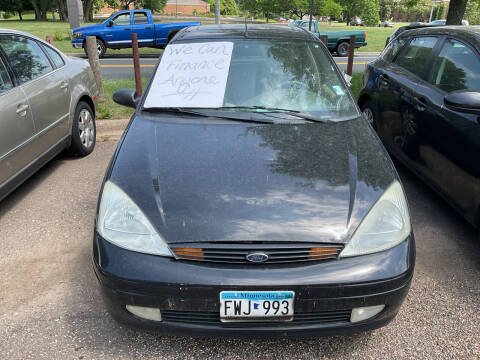 2002 Ford Focus for sale at Continental Auto Sales in White Bear Lake MN
