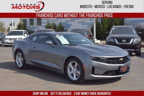2020 Chevrolet Camaro for sale at Choice Motors in Merced CA