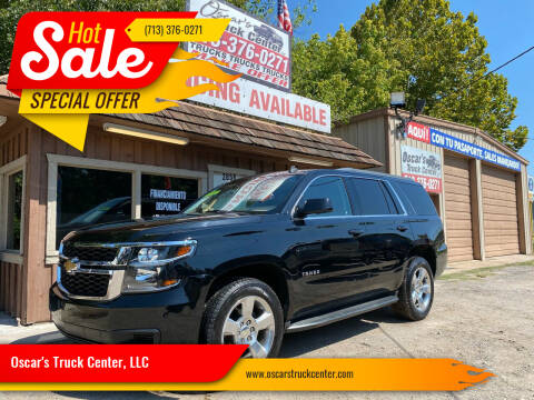 2015 Chevrolet Tahoe for sale at Oscar's Truck Center, LLC in Houston TX