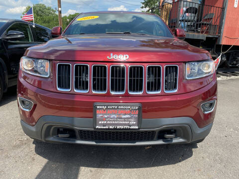 2016 Jeep Grand Cherokee for sale at Nasa Auto Group LLC in Passaic NJ