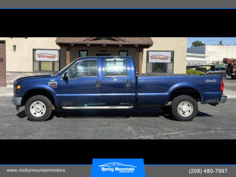 2008 Ford F-250 Super Duty for sale at Rocky Mountain Motors in Idaho Falls ID