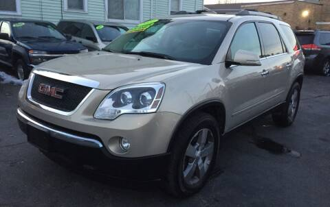 2011 GMC Acadia for sale at Commercial Street Auto Sales in Lynn MA