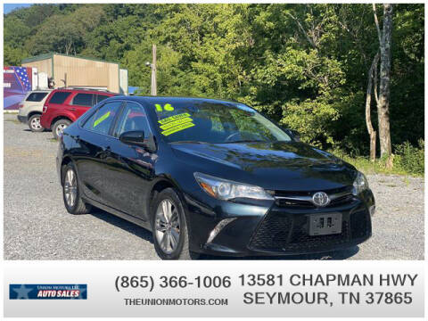 2016 Toyota Camry for sale at Union Motors in Seymour TN