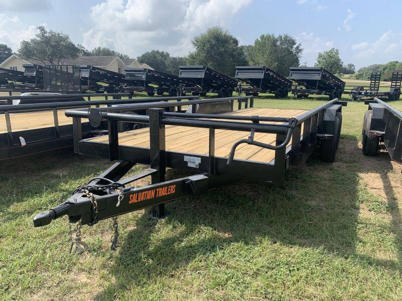2022 Salvation Trailers CS8320 83X20 PIPETOP 14K for sale at The Trailer Lot in Hallettsville TX