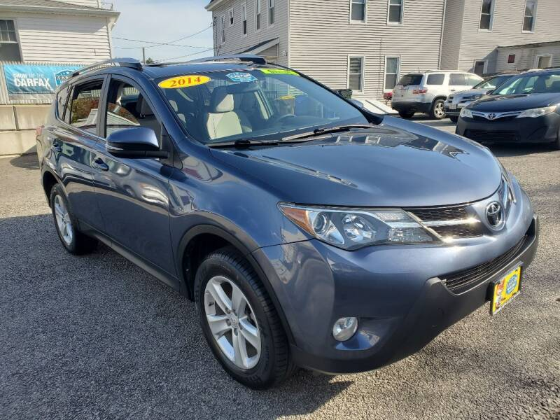 2014 Toyota RAV4 for sale at Fortier's Auto Sales & Svc in Fall River MA