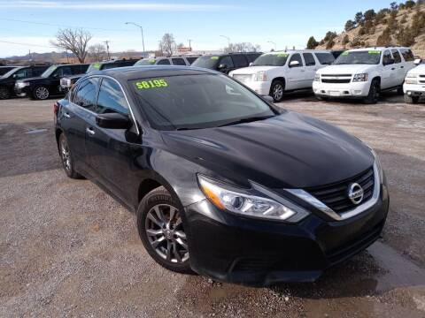 2016 Nissan Altima for sale at Canyon View Auto Sales in Cedar City UT